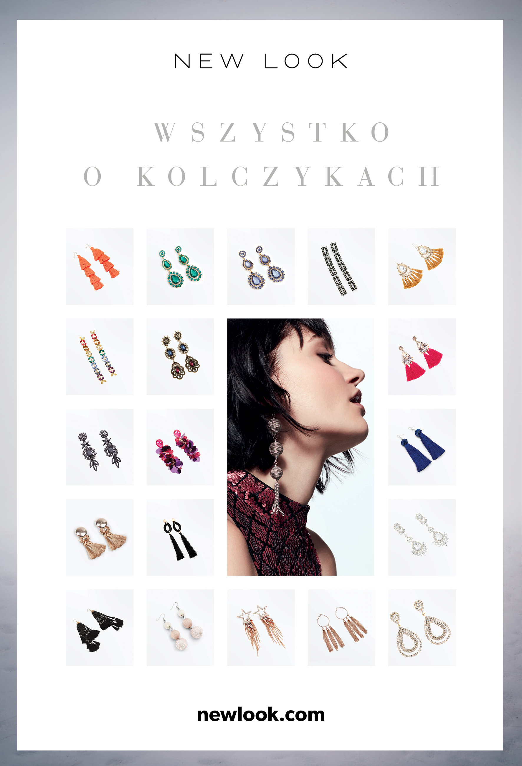 Wszystko o kolczykach dla modnych kobiet! Najnowsza kolekcja akcesoriów New Look AW2017