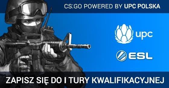 """Ruszyły zapisy do turnieju """"CS:GO powered by UPC""""."""