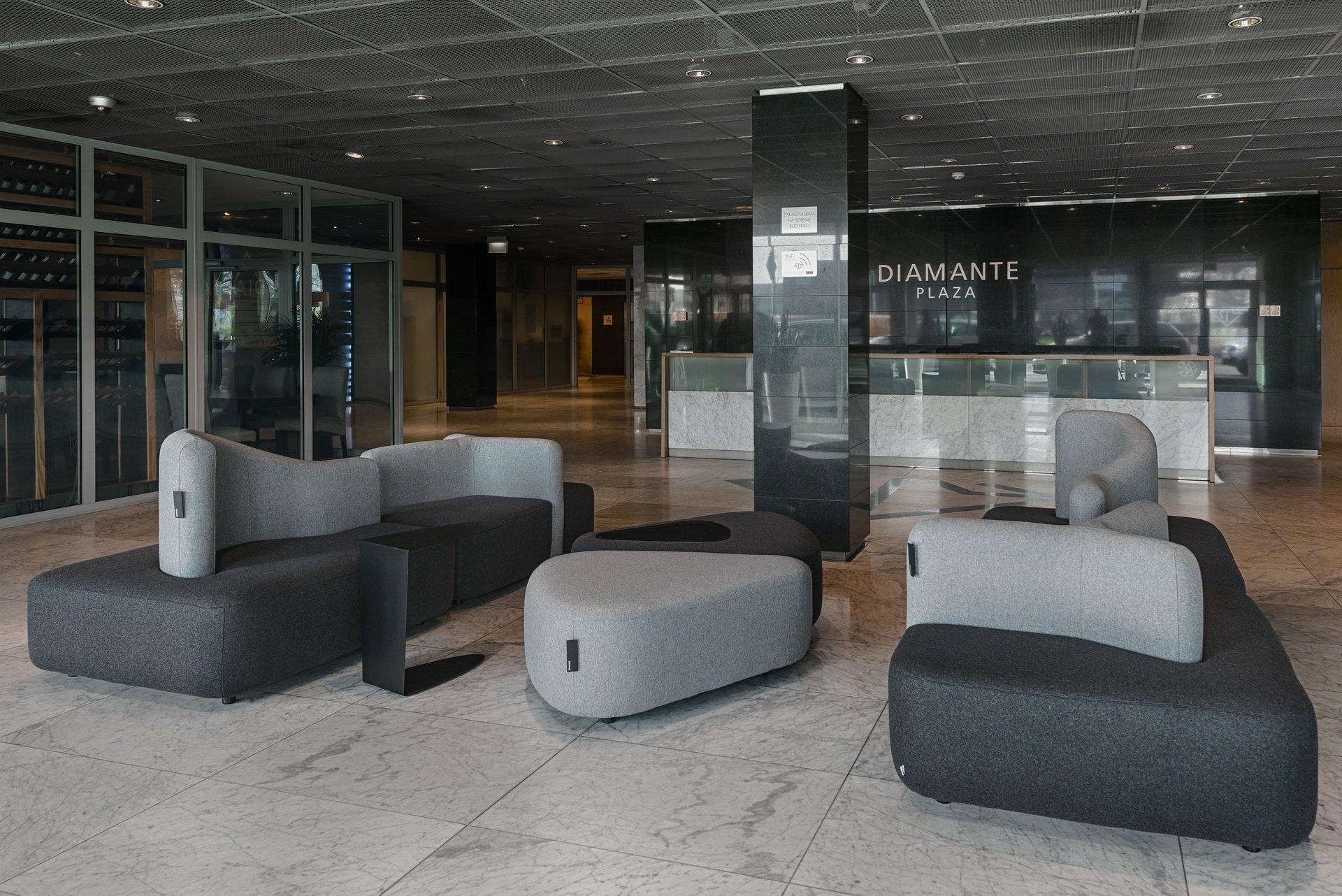 Diamante Plaza z nowym wystrojem recepcji