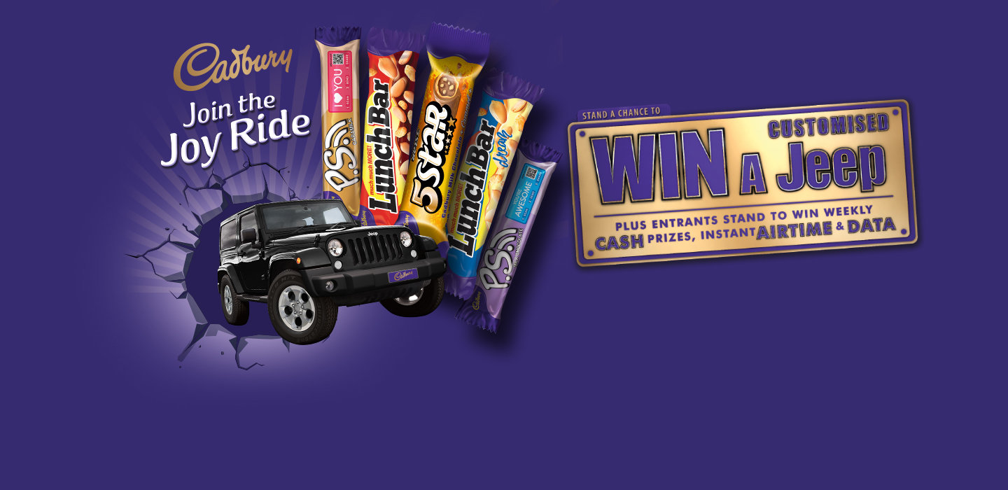 Lucky Durbanite wins the Cadbury Join the Joy Ride competition #CadburyJoyRide