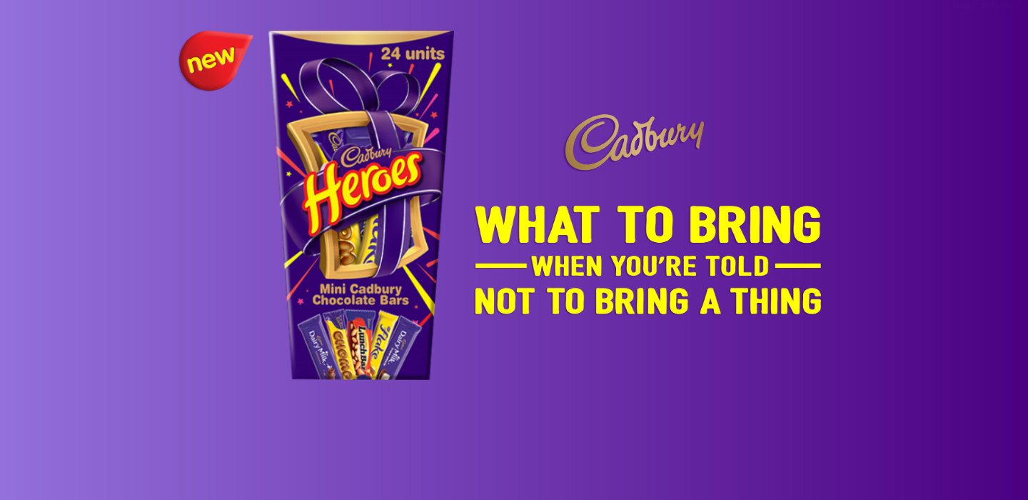 Cadbury Heroes, the NEW product to bring for ANY social occasion #Thing2Bring