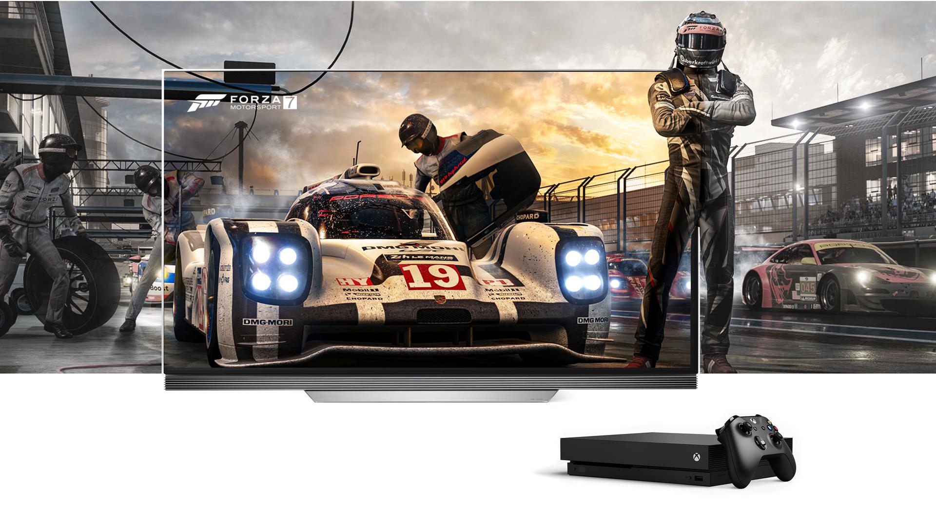 LG OLED TV i konsola Xbox One X - najsilniejszy duet gamingowy prezentem dla całej rodziny