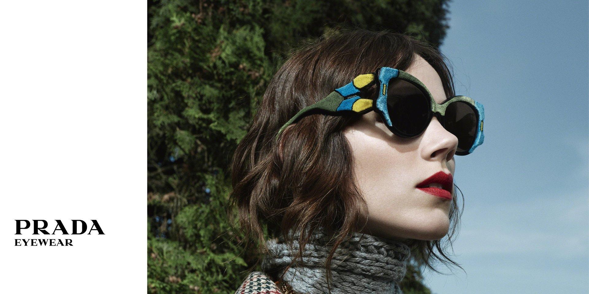 Projekty specjalne marek luksusowych Luxottica -  nowości od Dolce&Gabbana i Prada