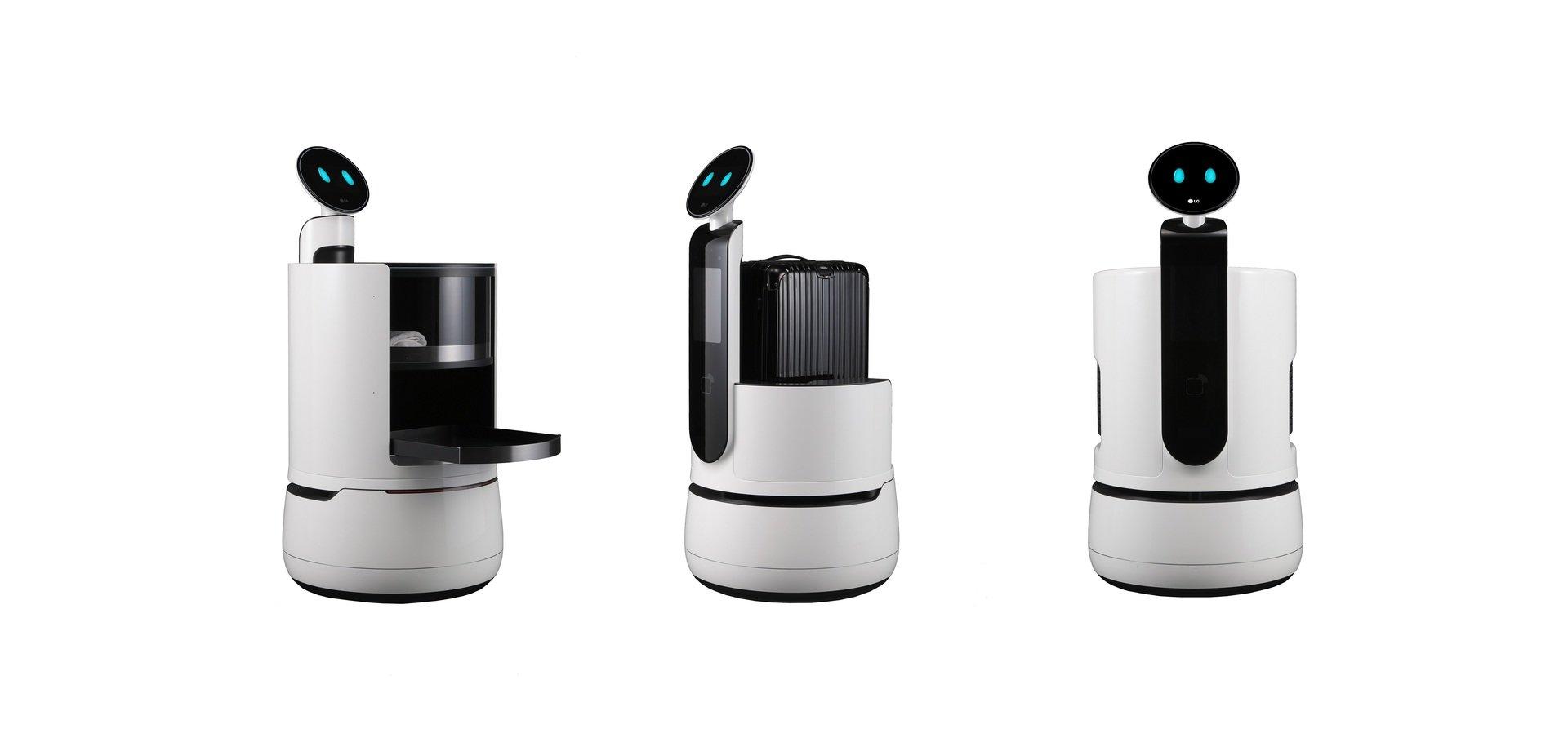 Firma LG wprowadza nowe portfolio robotów komercyjnych