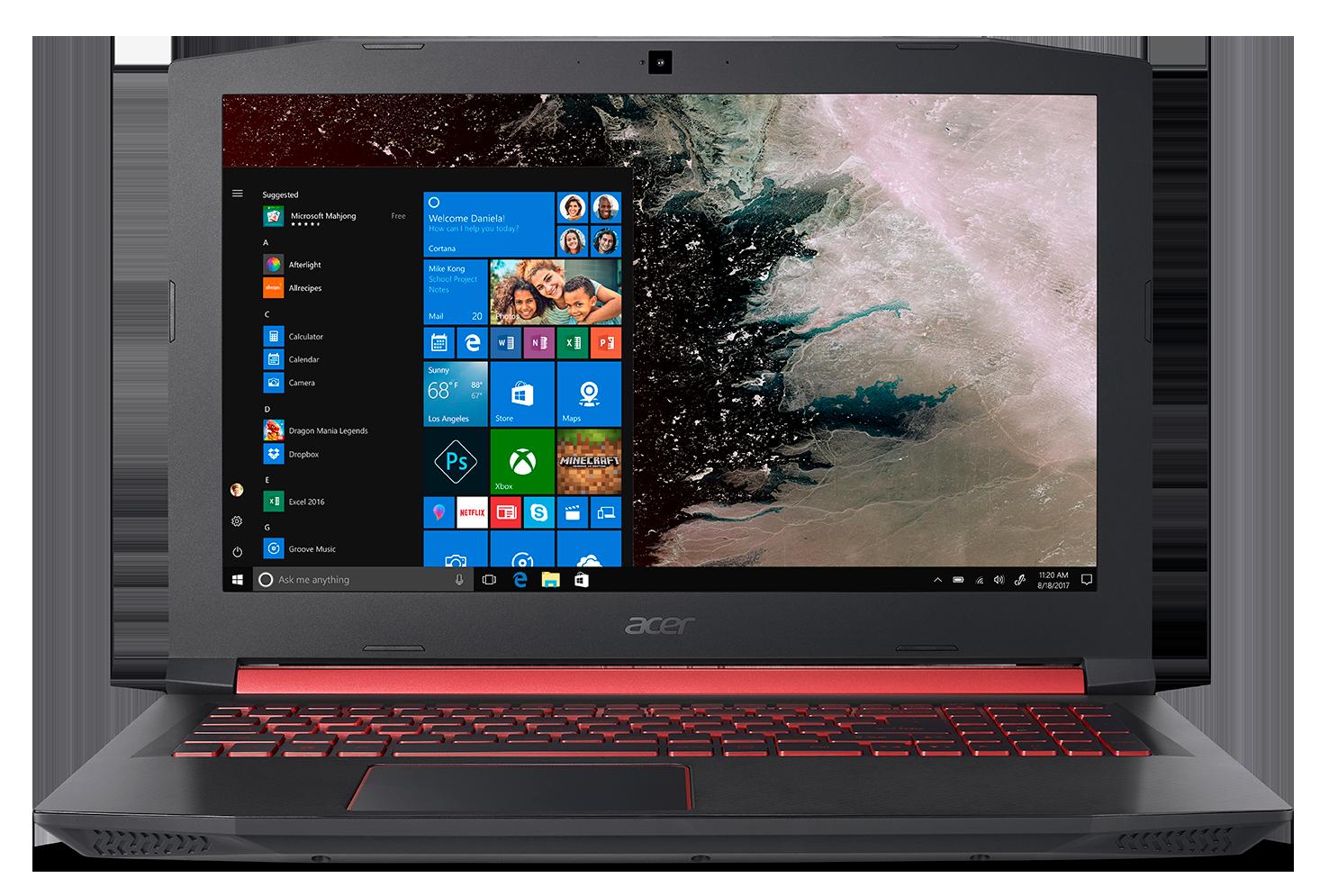 Acer Nitro 5 z procesorem i kartą graficzną AMD