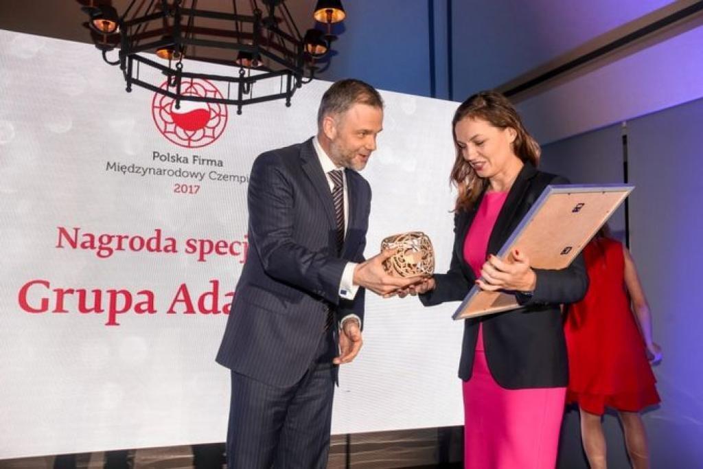 Nagroda dla Grupy Adamed za działalność międzynarodową