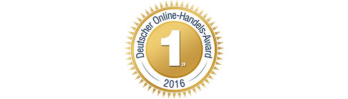 notebooksbilliger.de | Auszeichnung mit dem Deutschen Online-Handels-Award 2016