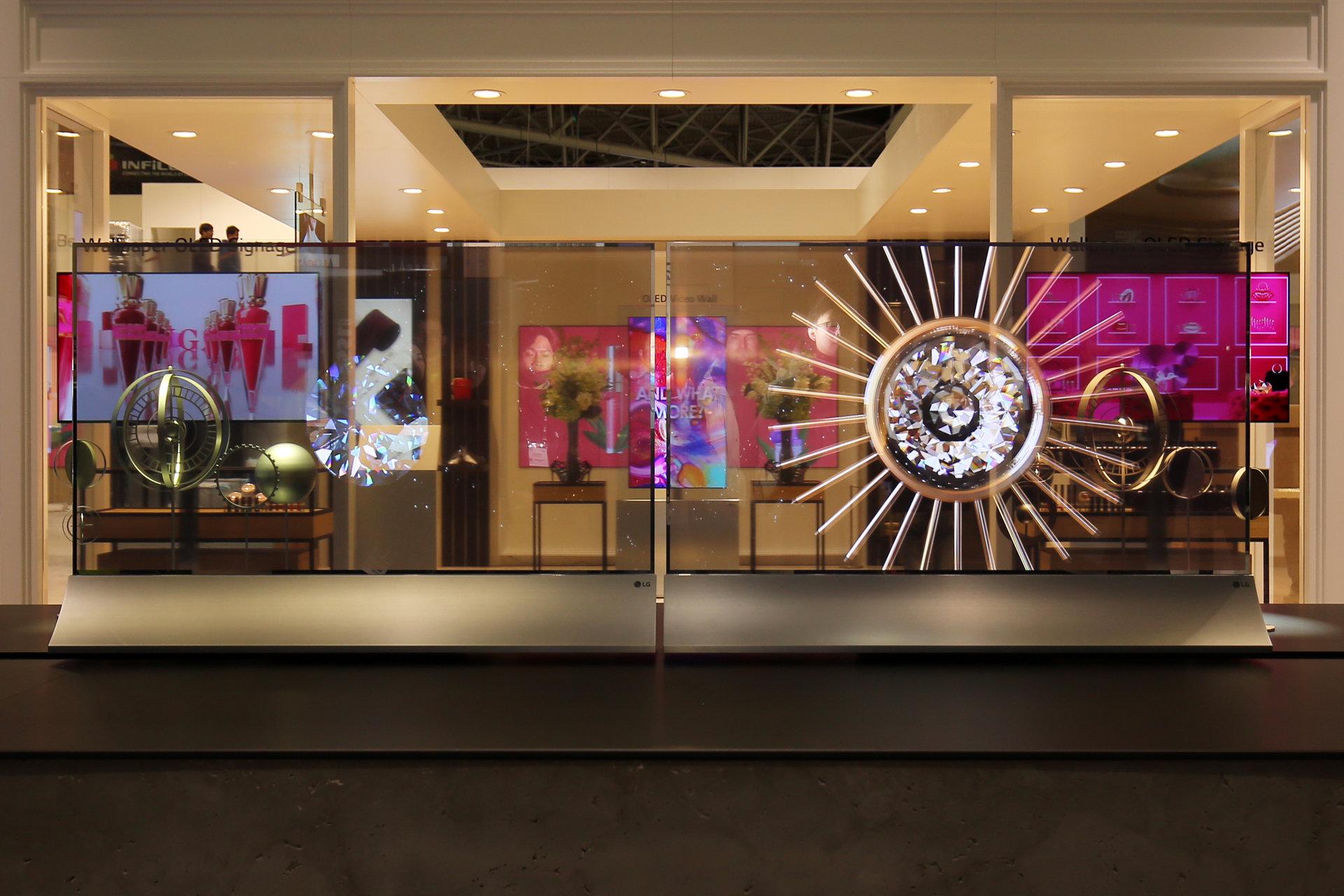 ISE 2018: LG prezentuje innowacyjne wyświetlacze dla biznesu