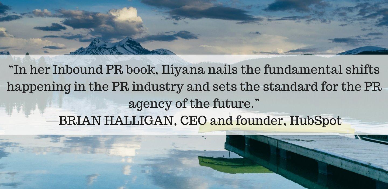 Inbound PR Book Endorsements