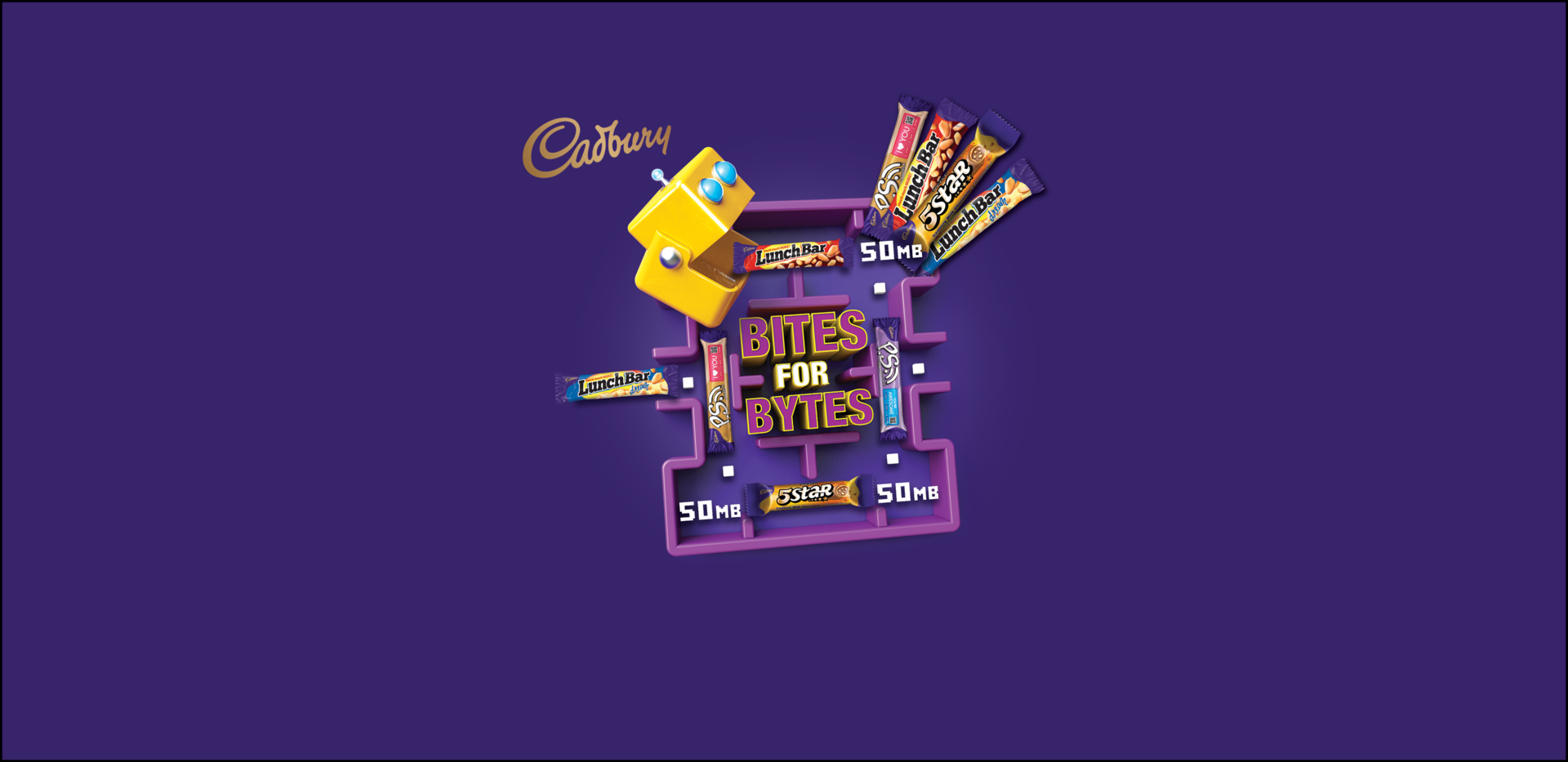 The more you bite, the more bytes you can GET with Cadbury! #Bites4Bytes