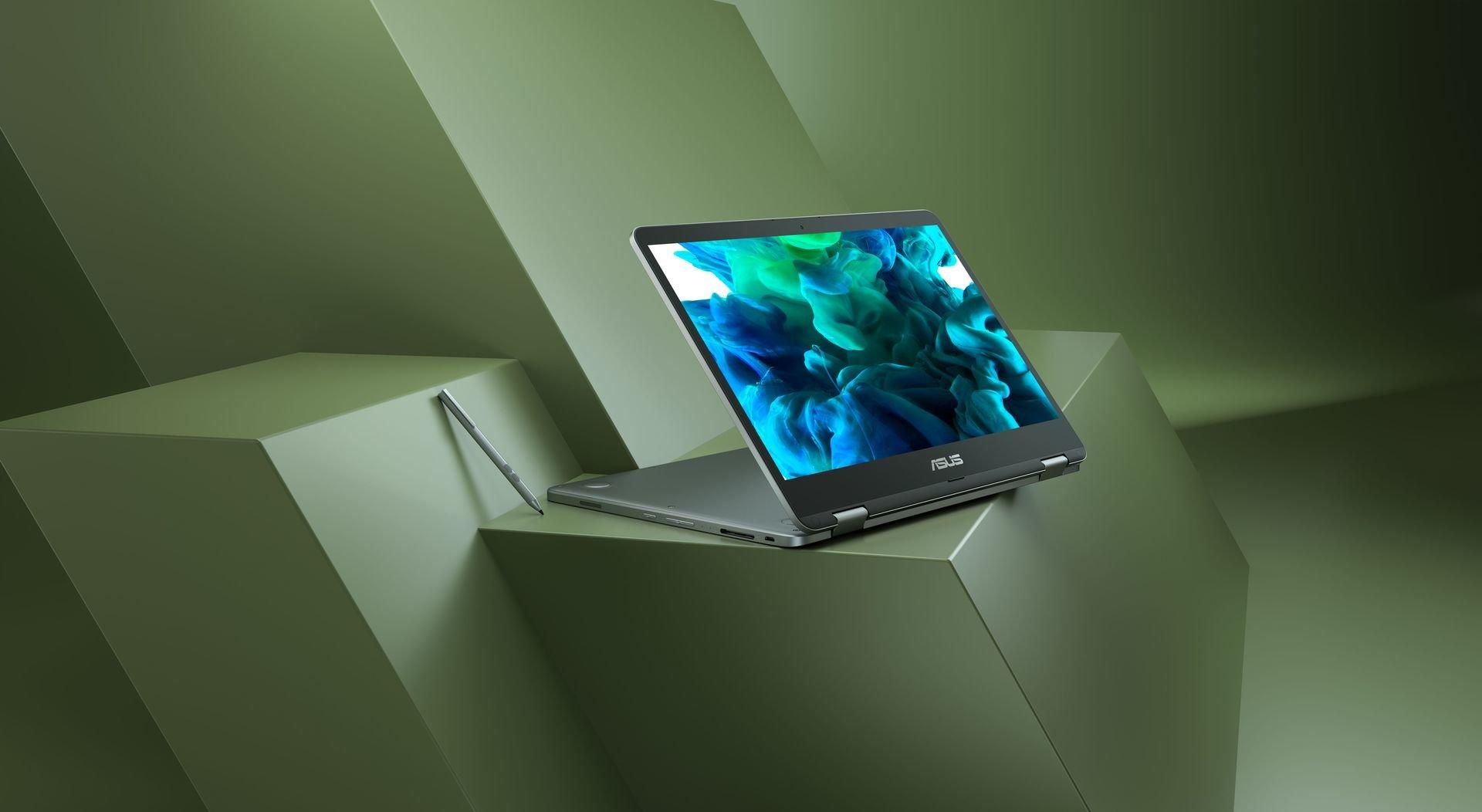 Idealnie dobrana para - ASUS VivoBook Flip 14 (TP401) i rysik ASUS Pen