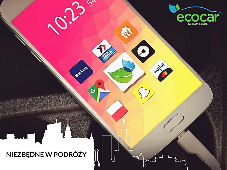 EcoCar wśród 13 najpopularniejszych aplikacji mobilnych