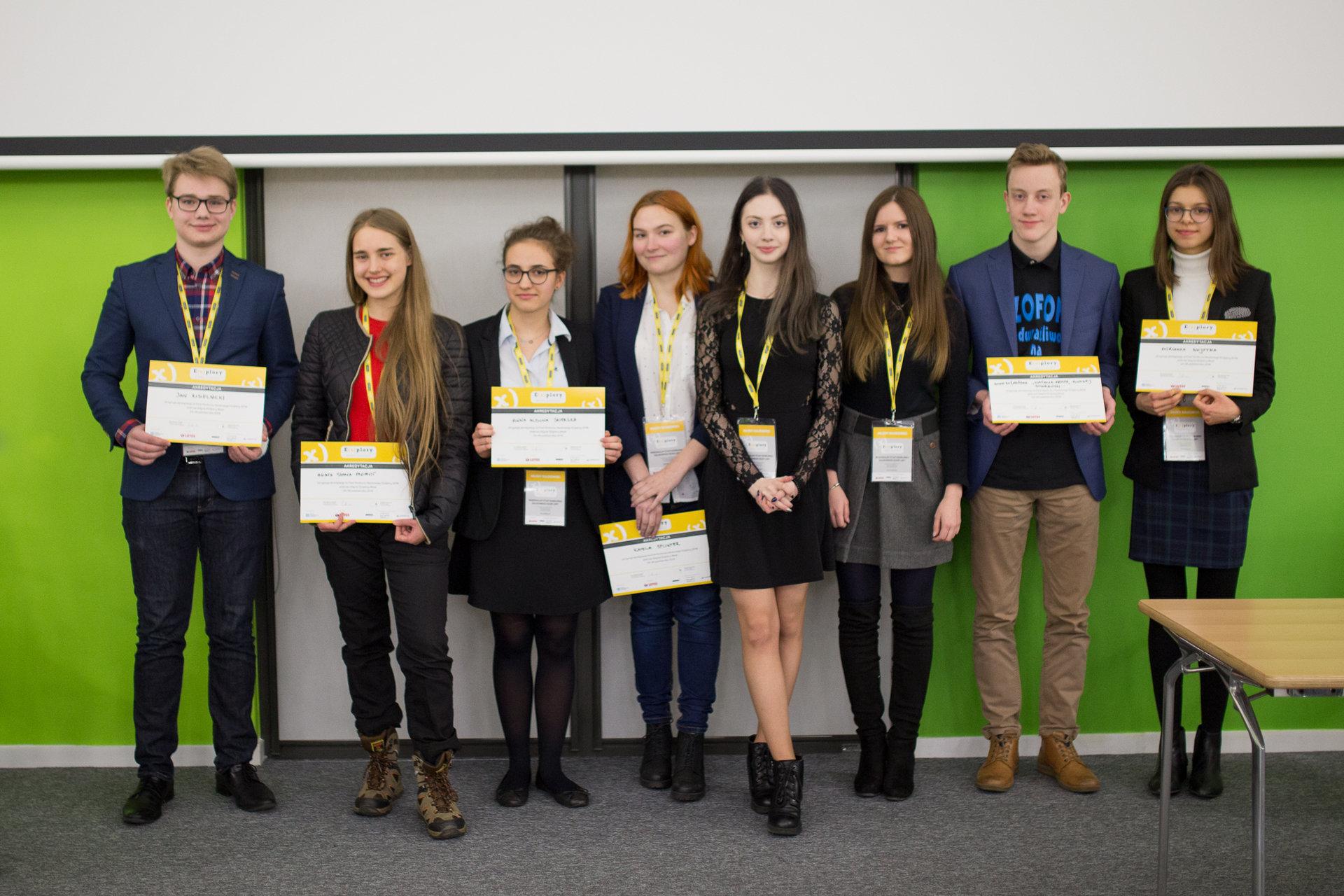 Znamy finalistów Regionalnego Konkursu Naukowego E(x)plory w Szczecinie!
