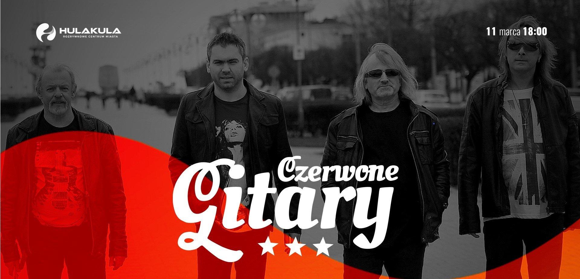 Legenda polskiej muzyki – grupa Czerwone Gitary wystąpi w Hulakula