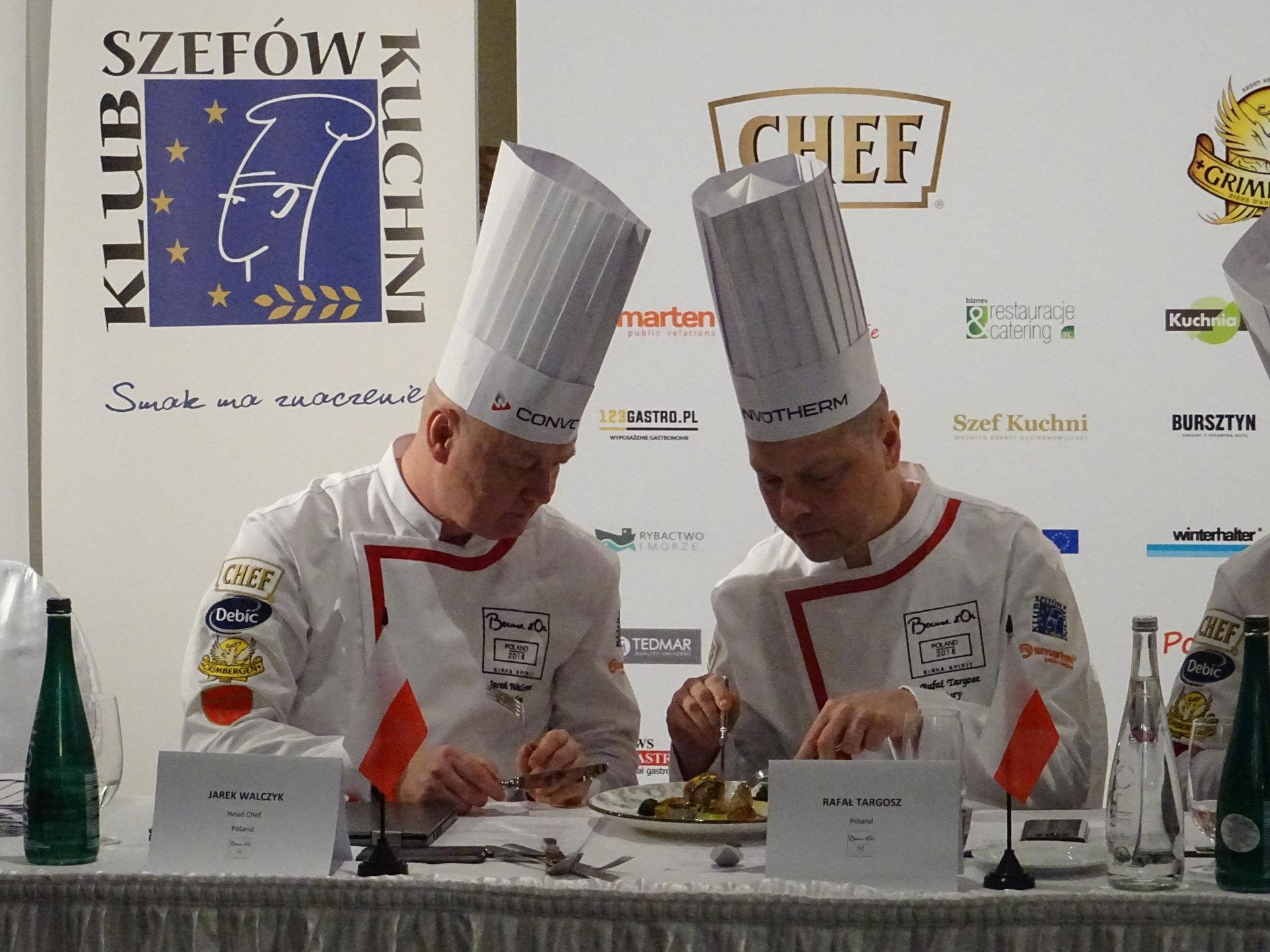 Bursztyn na elitarnym konkursie kulinarnym Bocuse d'Or