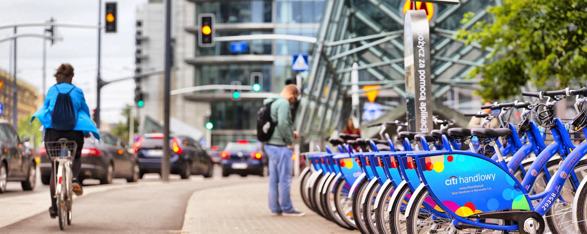 Citi Handlowy Bikes pomogą walczyć ze smogiem w Warszawie
