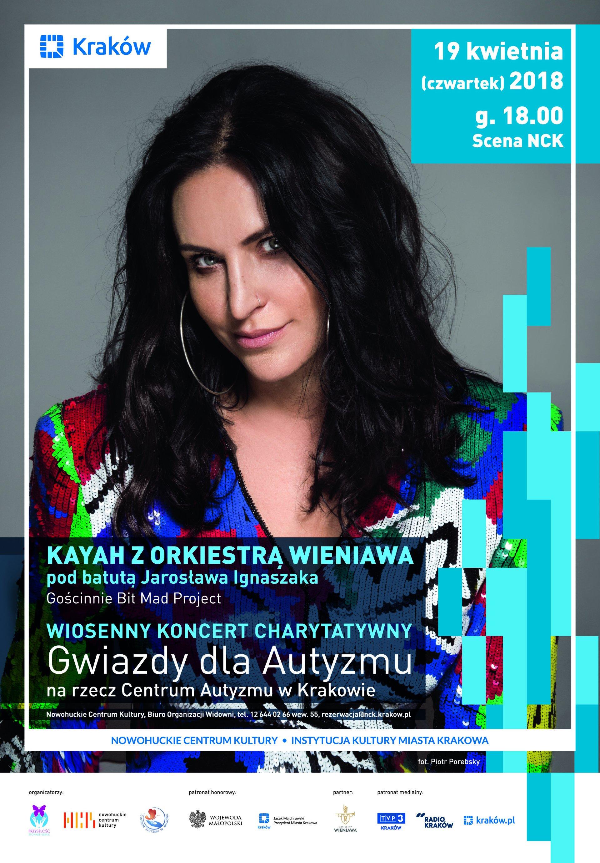 Kayah i Orkiestra Wieniawa  w Wiosennym Koncercie Charytatywnym Gwiazdy dla Autyzmu