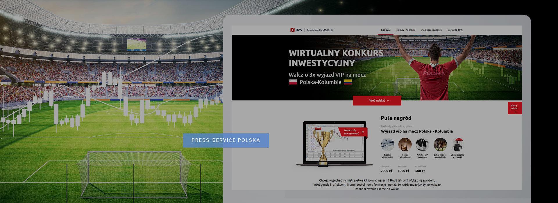TMS Brokers - konkurs inwestycyjny. Wygraj wyjazd na Mistrzostwa Świata