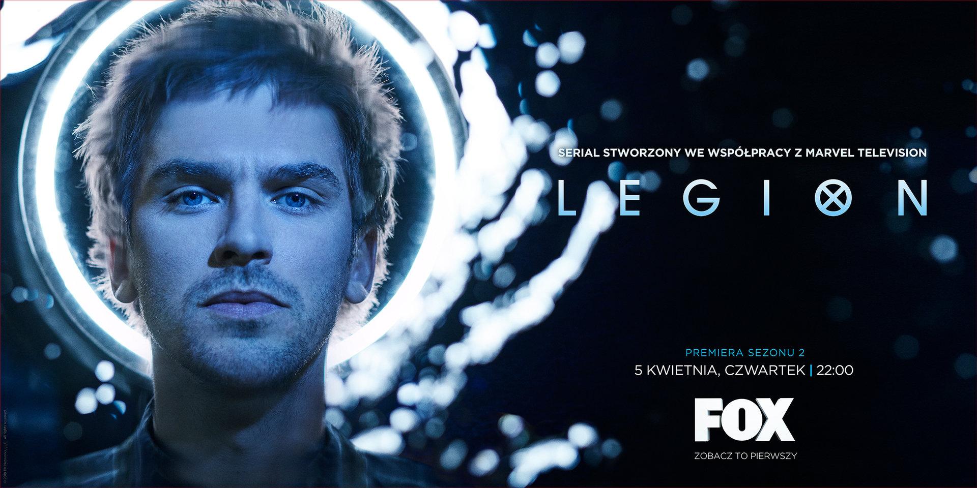 Wyprawa po mrocznych zakamarkach psychiki Davida Hallera! Drugi sezon serialu Legion już 5 kwietnia tylko na FOX!