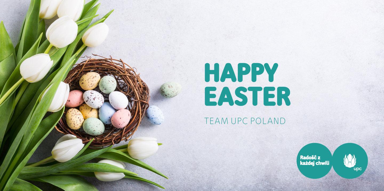 Bardzo radosnych świąt Wielkanocnych!