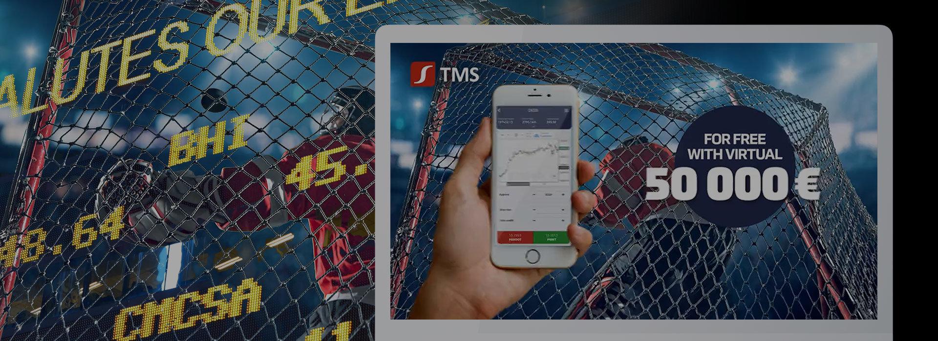 Reklamy telewizyjne TMS Europe na rynek nadbałtycki.