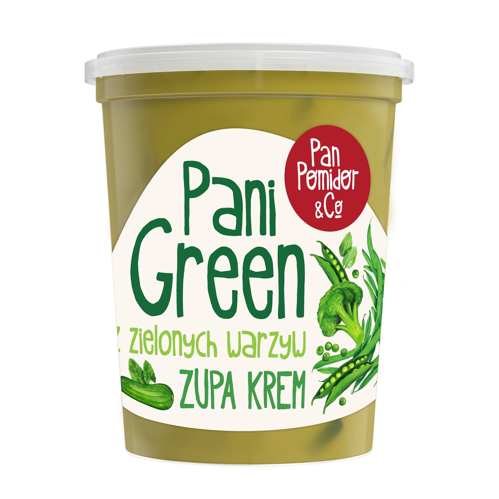 Pani Green, nowa zupa marki Pan Pomidor&Co. – wiosenna oferta dla zapracowanych