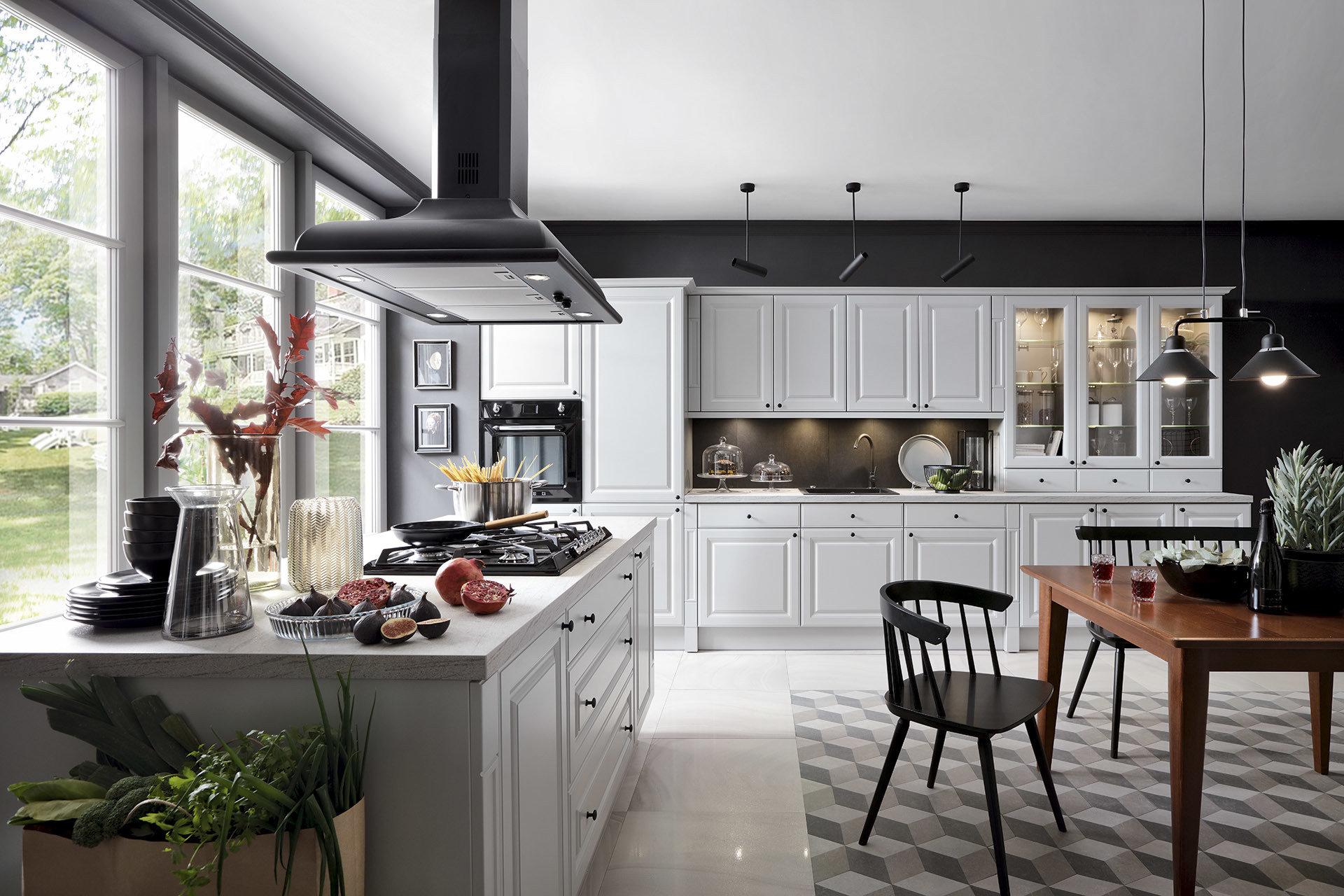Poznaj 5 kroków do zaprojektowania idealnej kuchni z Black Red White
