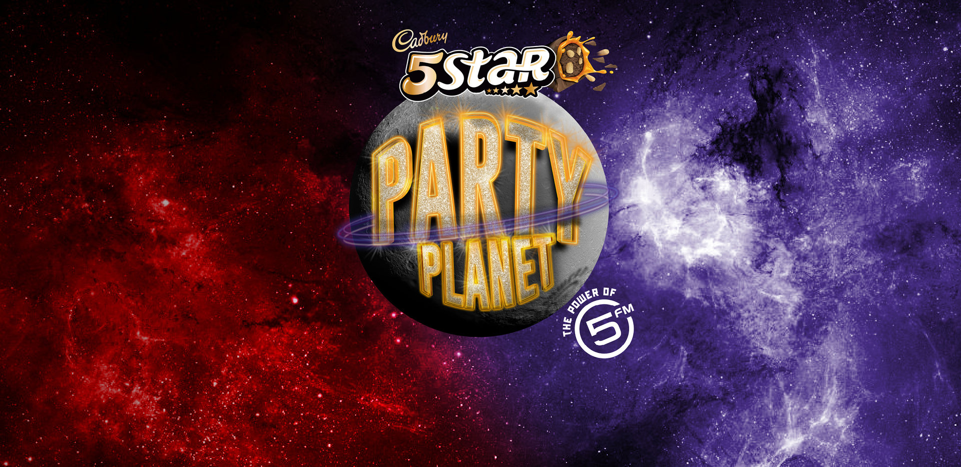 Get lost in the taste, get lost in the experience with Cadbury 5Star Party Planet powered by 5FM.