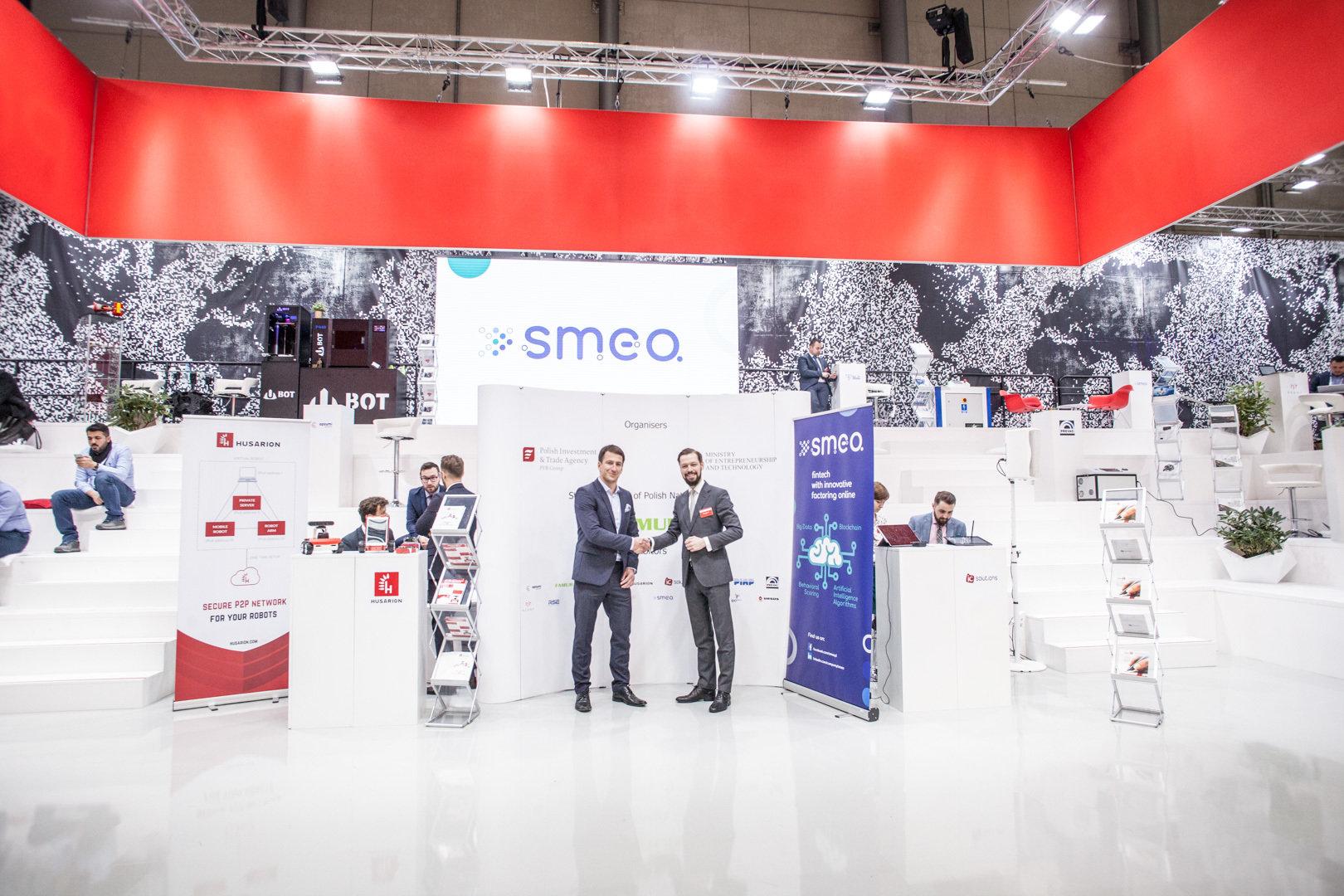 Sukces polskiego fintechu SMEO na Hannover Messe
