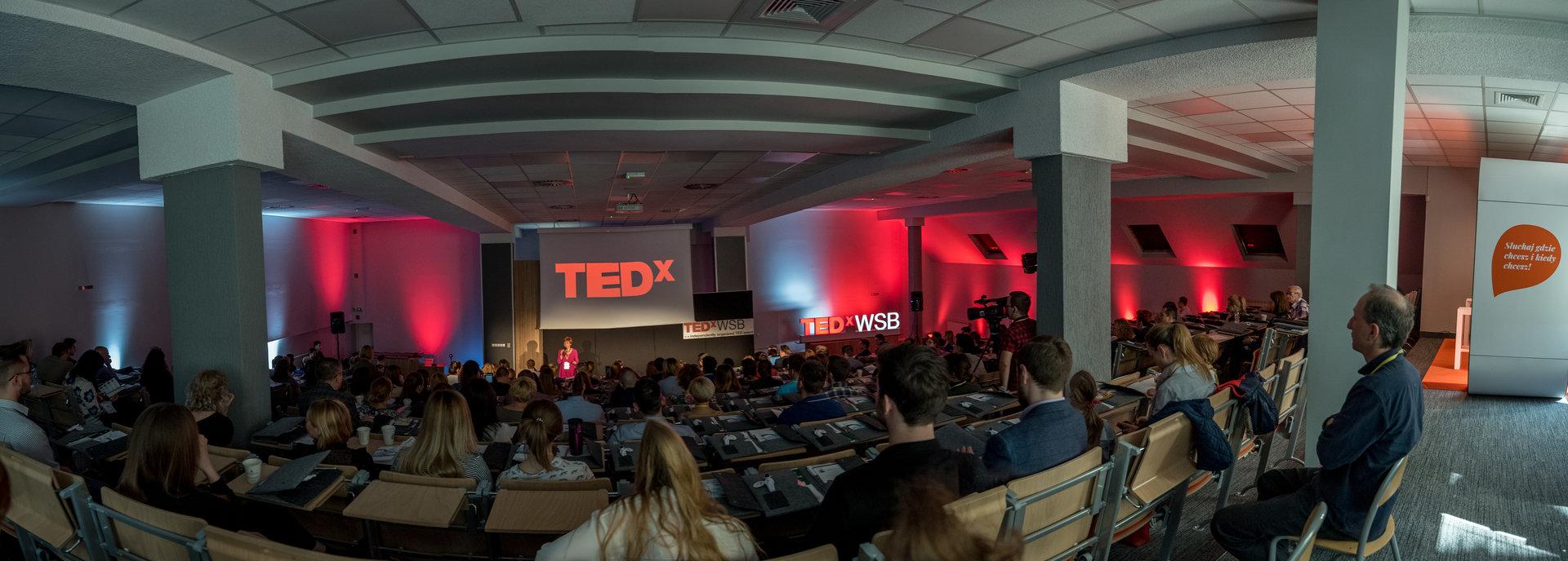 Podroż do przyszłości na TEDxWSB