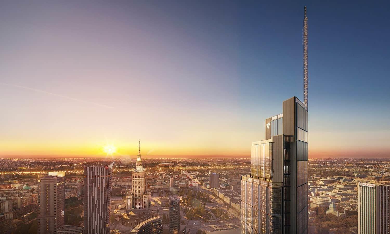 Budova Varso Tower získala první certifikát WELL Core & Shell Precertification™ v Evropě