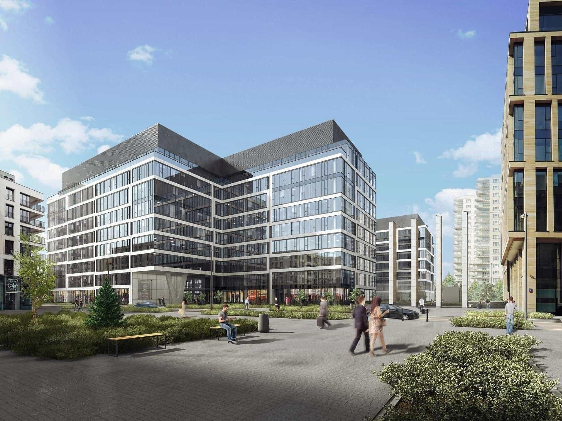 Trzeci budynek kompleksu Gdański Business Center oddany do użytku w rekordowym czasie