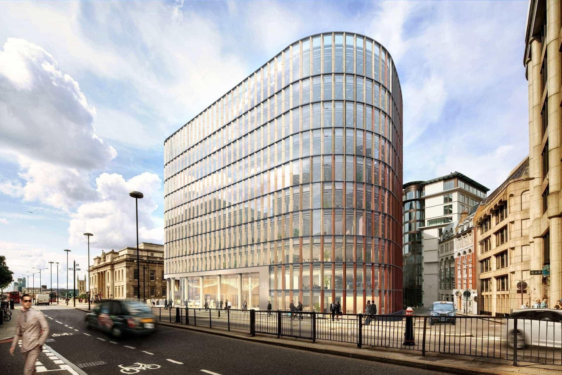 Wiecha nad pierwszą inwestycją HB Reavis w Londynie