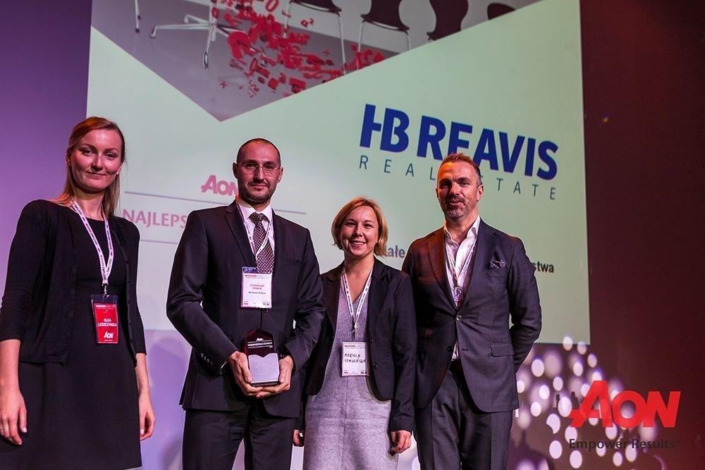 HB Reavis wśród najlepszych pracodawców w Polsce