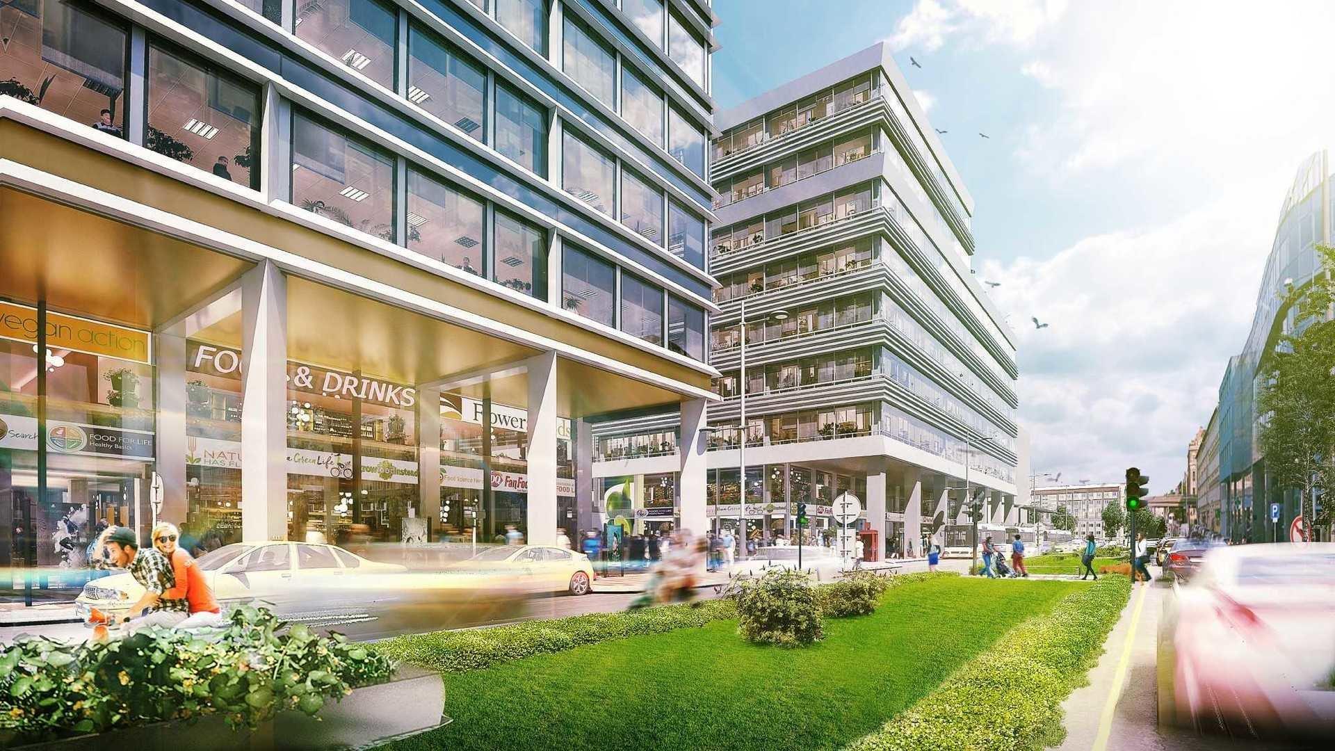 HB Reavis rozpoczyna budowę Agory w centrum Budapesztu