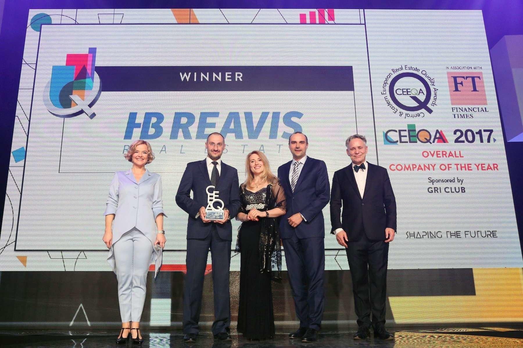 HB Reavis najlepszym deweloperem w regionie w konkursie CEEQA