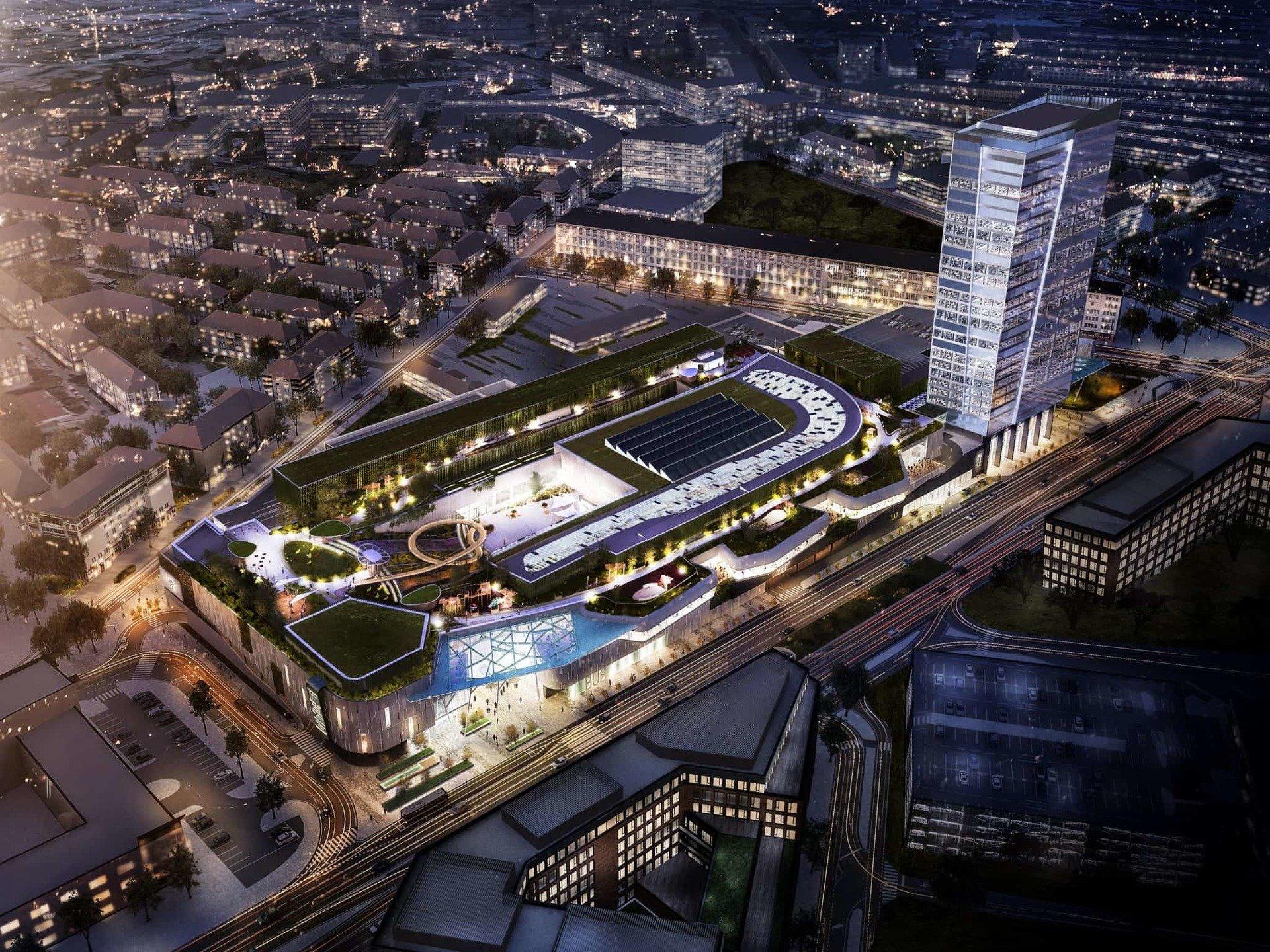 HB Reavis rozpoczyna budowę Stanicy Nivy w Bratysławie