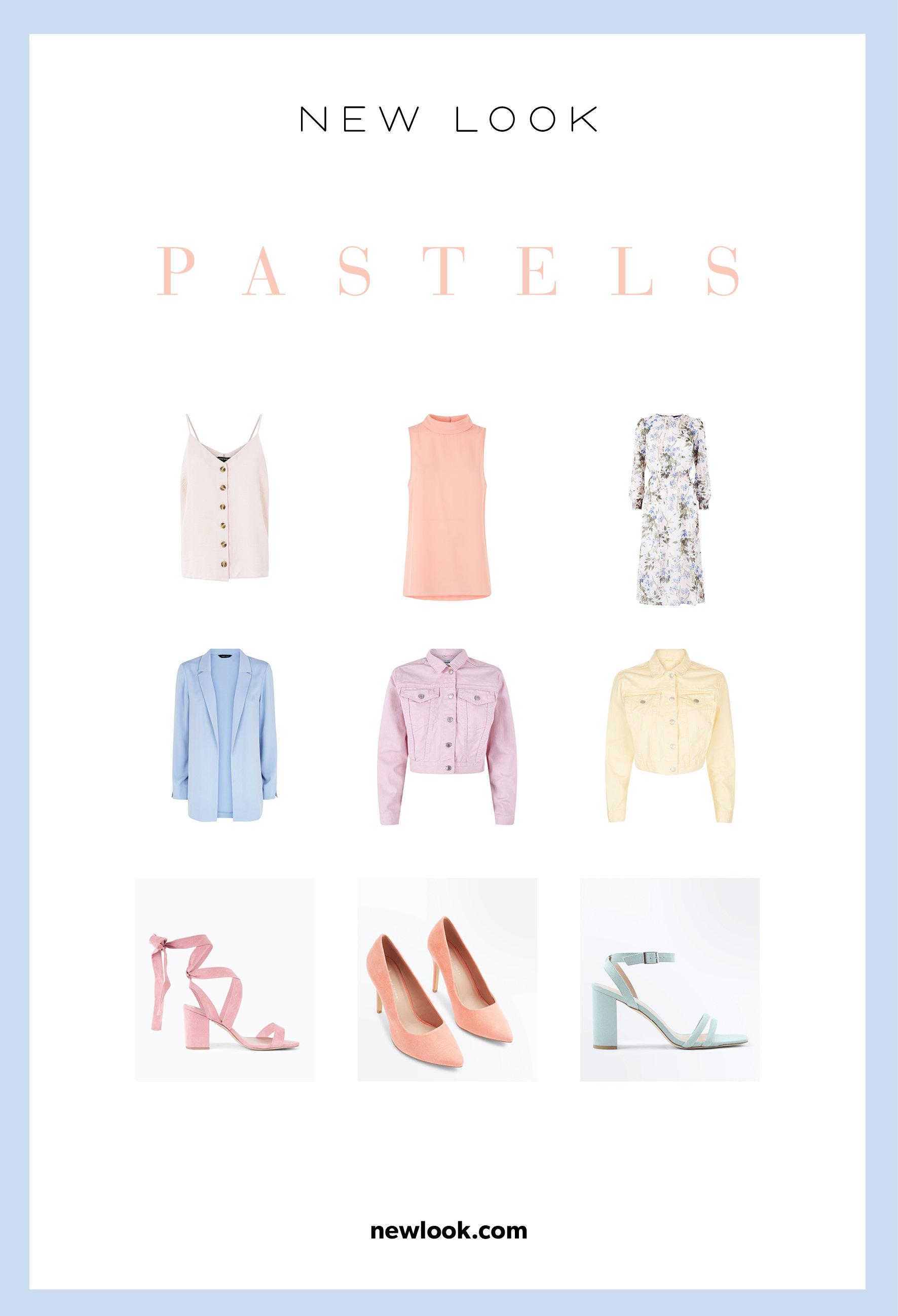 Trendy SS18 w New Look: pastele