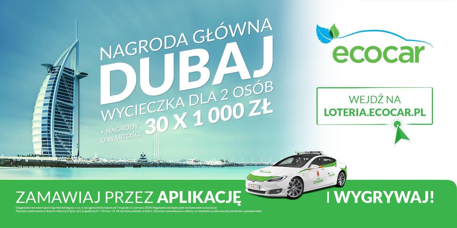 Ruszyła wielka loteria EcoCar. Do wygrania wycieczka i 1000 zł codziennie