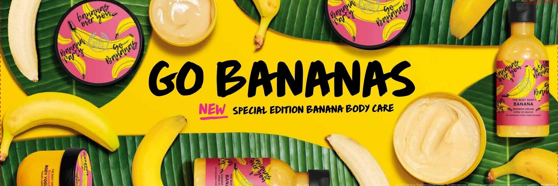 Bananowe szaleństwo z The Body Shop!