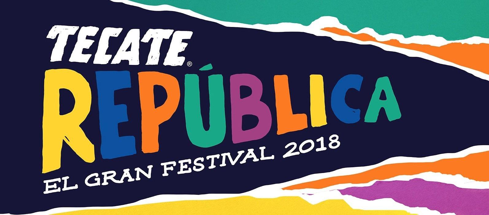 """Se anuncia el lineup de la segunda edición del Tecate República """"El Gran Festival"""""""
