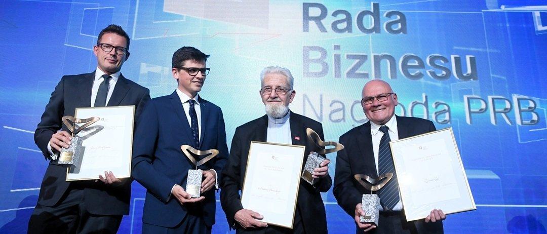 Przemysław Gacek z Nagrodą Polskiej Rady Biznesu