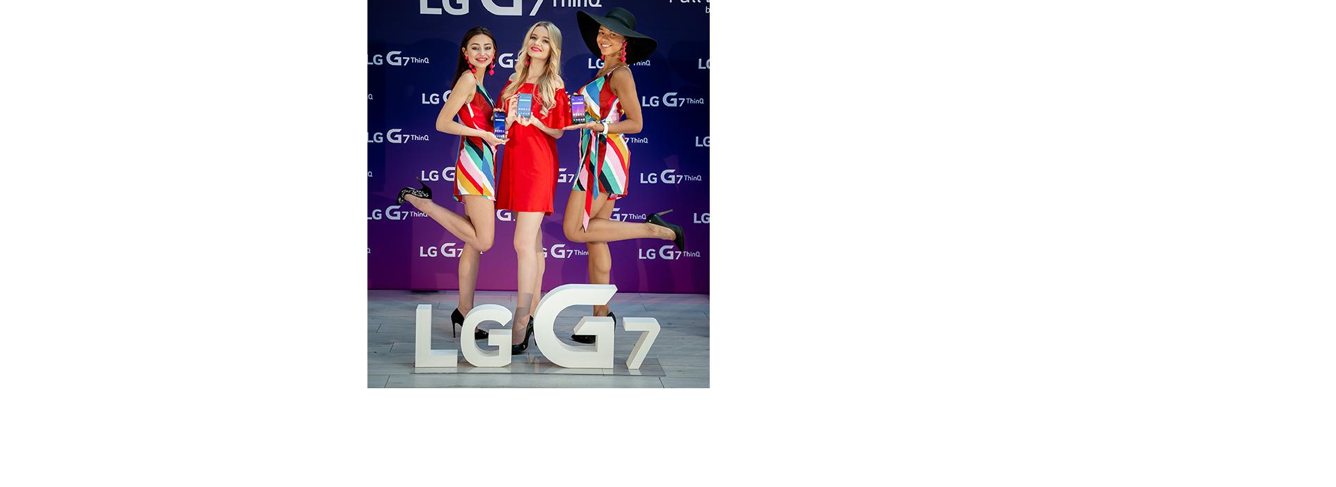 INNOWACJE LG, KTÓRE UŁATWIĄ CODZIENNOŚĆ - FLAGOWIEC LG G7 THINQ ZE SZTUCZNĄ INTELIGENCJĄ WCHODZI DO POLSKI