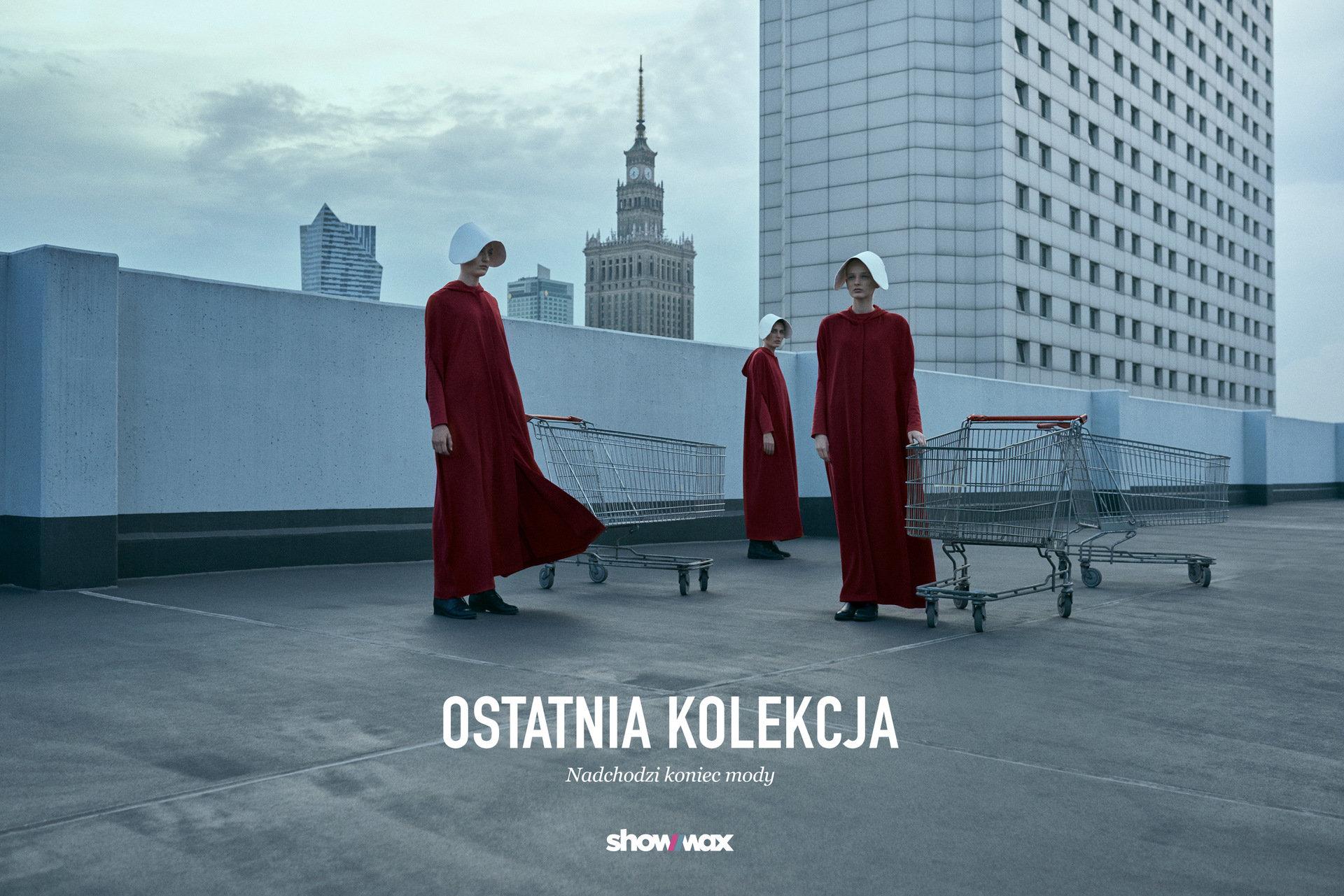 """""""Ostatnia kolekcja"""" od Showmax. Specjalna linia odzieżowa dla posłusznych kobiet, prezentowana na Showroom.pl."""