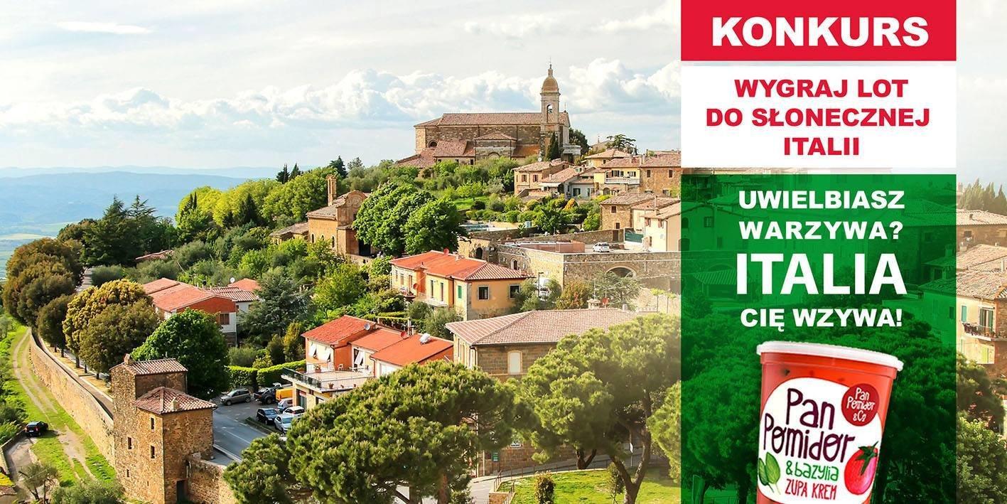 Uwielbiasz warzywa, Italia Cię wzywa!  Sfotografuj swój przydomowy ogródek i pojedź do Włoch