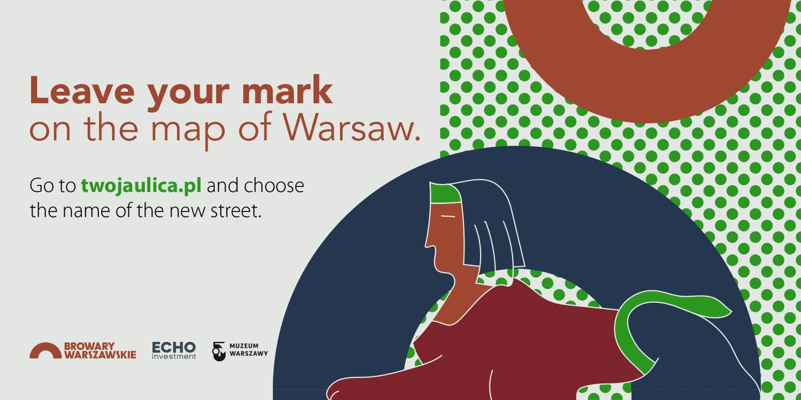 New street is under construction in Browary Warszawskie – you can choose its name!