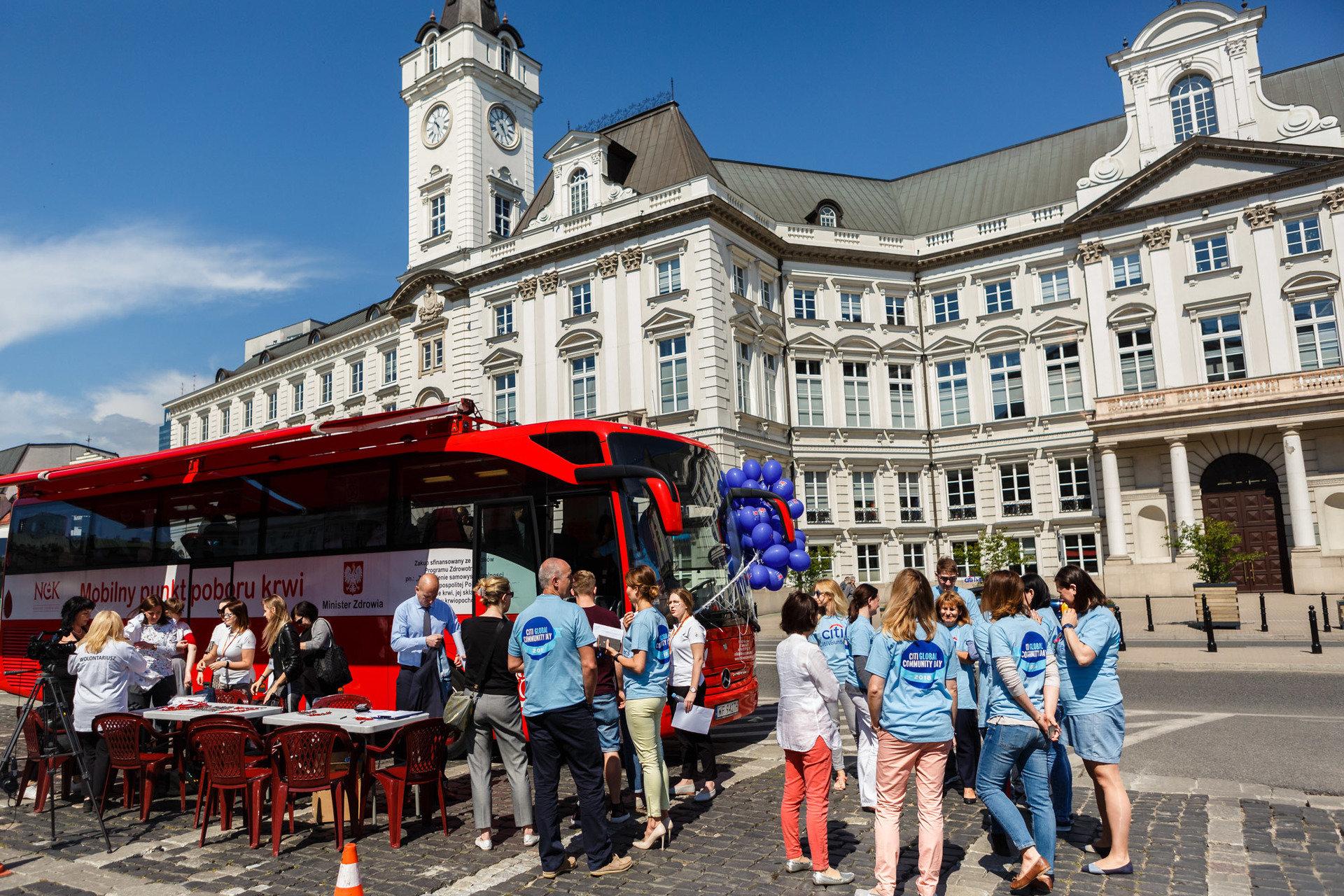 #CitiVolunteers: Oddaj krew i podpisz się pod przesłaniem dla przyszłych pokoleń