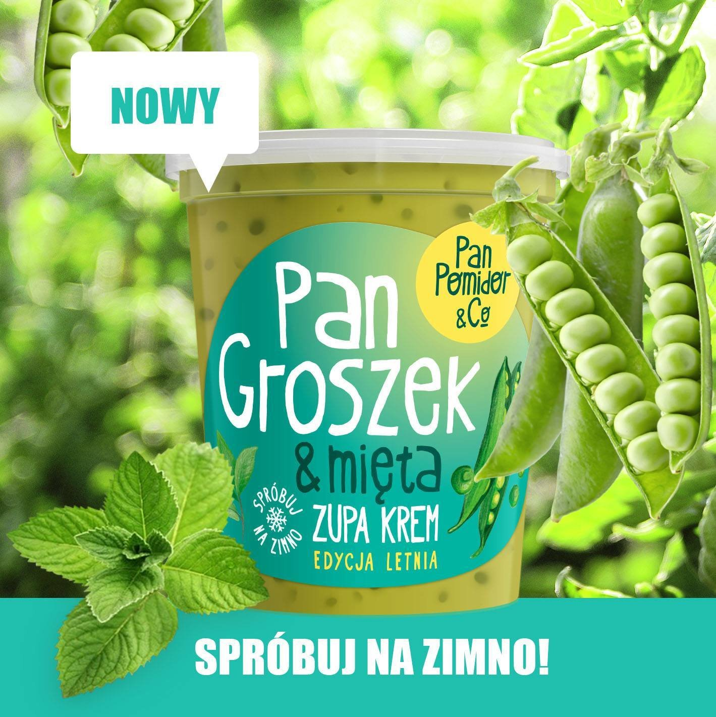 Pan Groszek & Mięta - kolejna nowość od Pan Pomidor&Co.