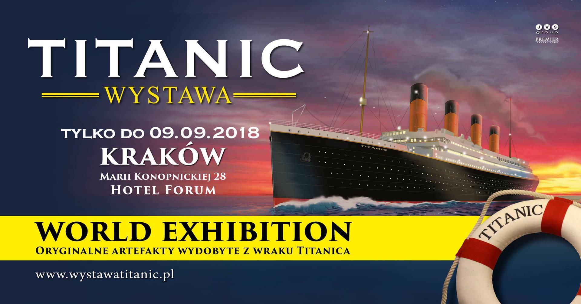 W Krakowie trwa najpopularniejsza na świecie wystawa o Titanicu