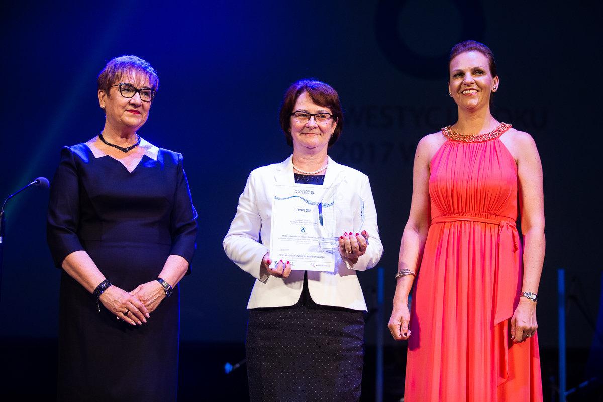 PWiK w Tarnowskich Górach zdobył nagrodę Inwestycja roku 2017 WOD-KAN